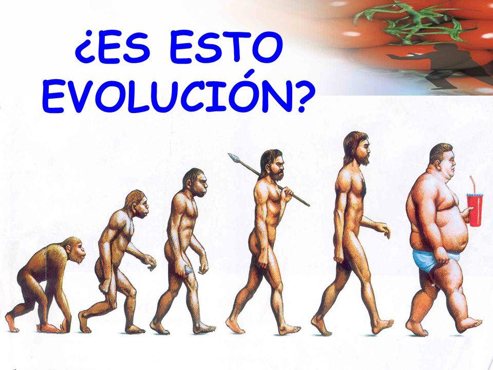¿ES ESTO EVOLUCIÓN