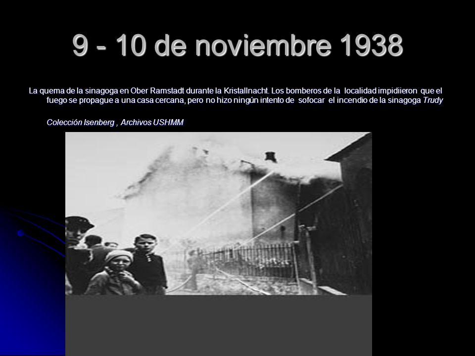 9 - 10 de noviembre 1938