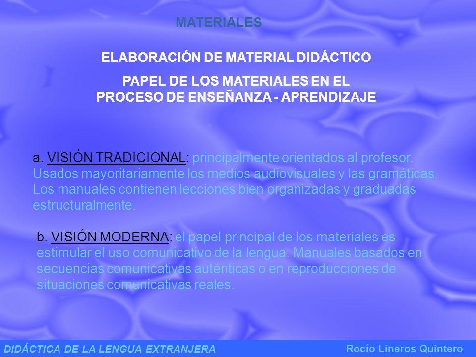 ELABORACIÓN DE MATERIAL DIDÁCTICO