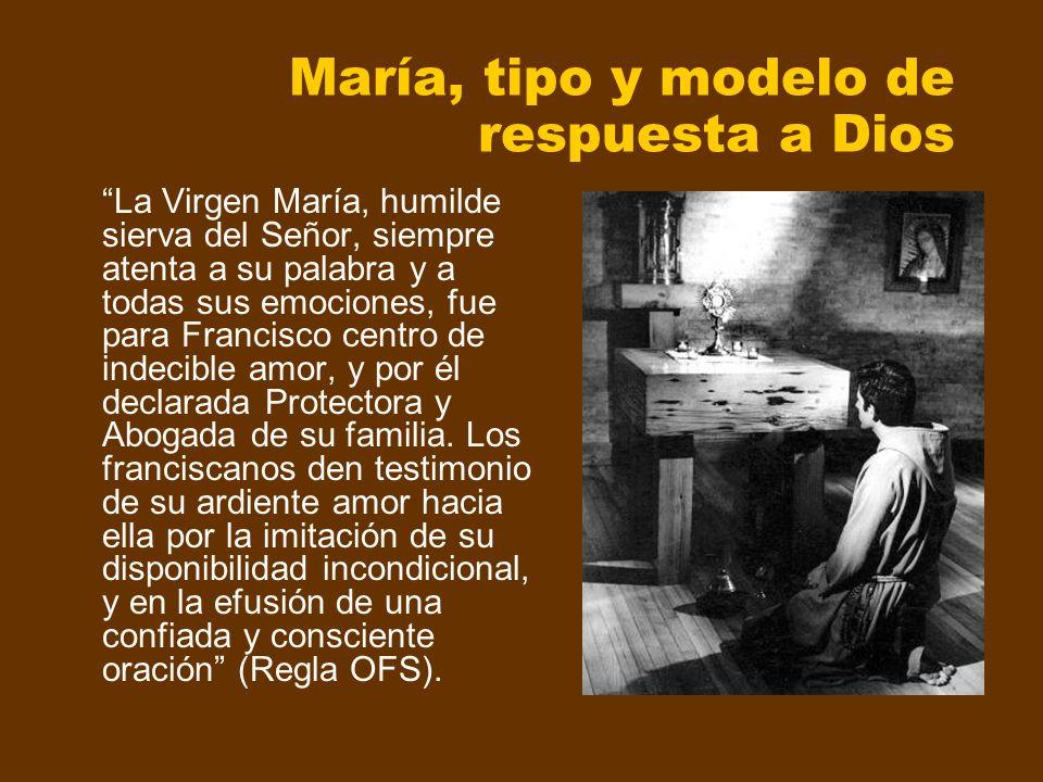 María, tipo y modelo de respuesta a Dios