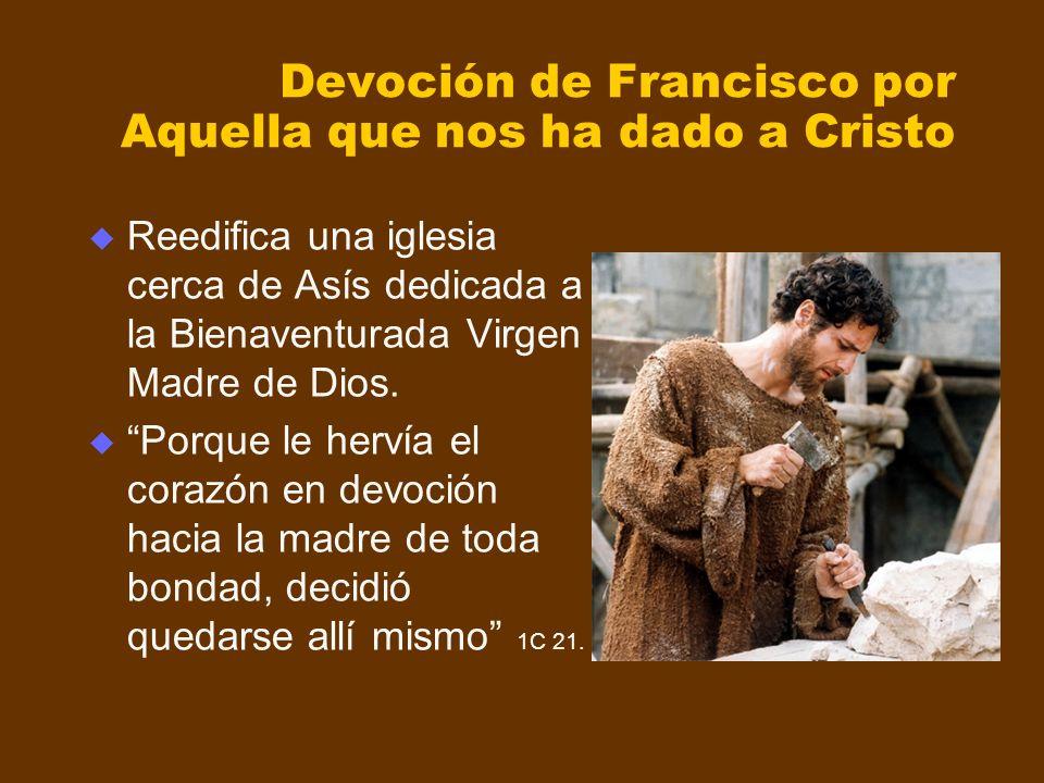 Devoción de Francisco por Aquella que nos ha dado a Cristo