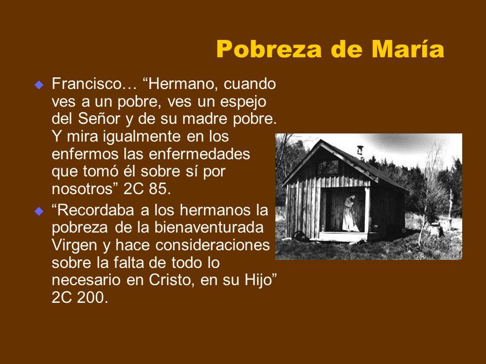 Pobreza de María