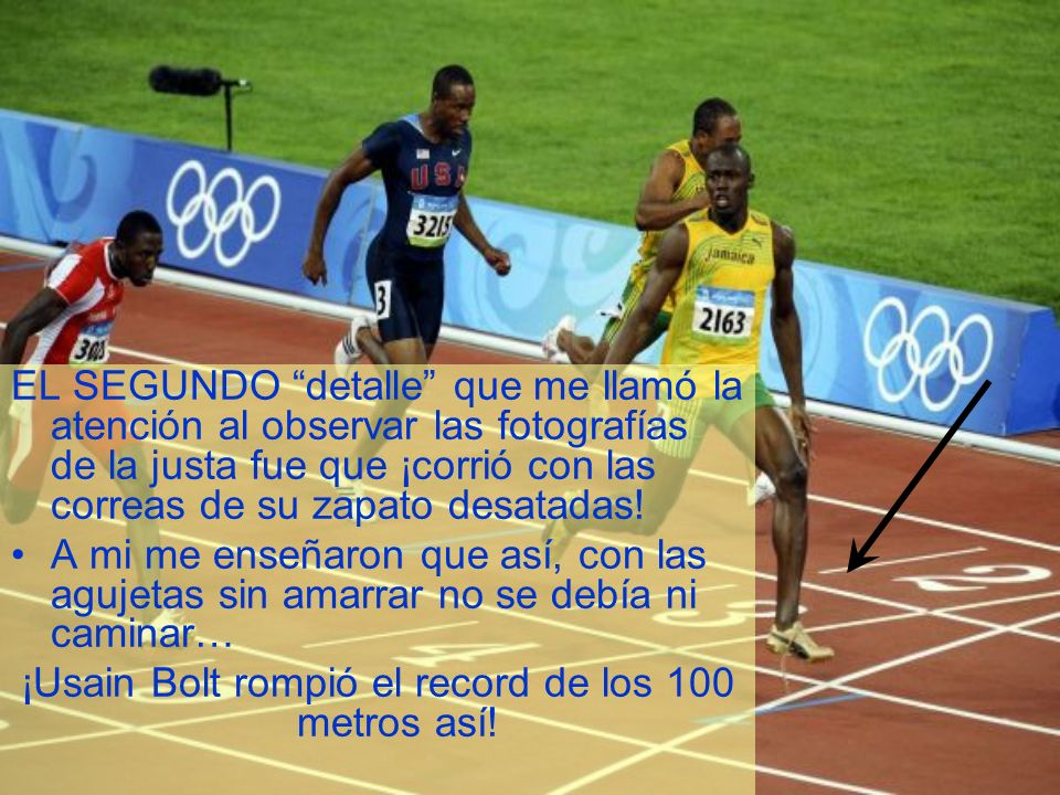 ¡Usain Bolt rompió el record de los 100 metros así!