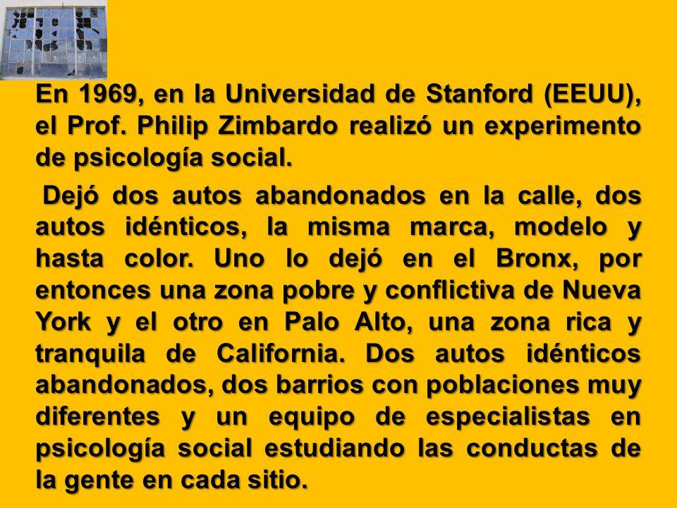 En 1969, en la Universidad de Stanford (EEUU), el Prof