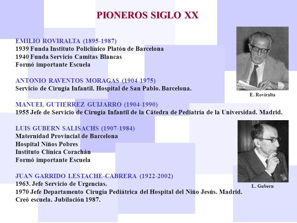 PIONEROS SIGLO XX EMILIO ROVIRALTA (1895-1987)