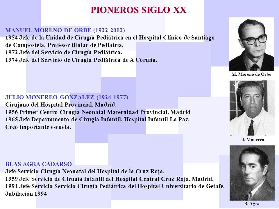 PIONEROS SIGLO XX MANUEL MORENO DE ORBE (1922-2002)