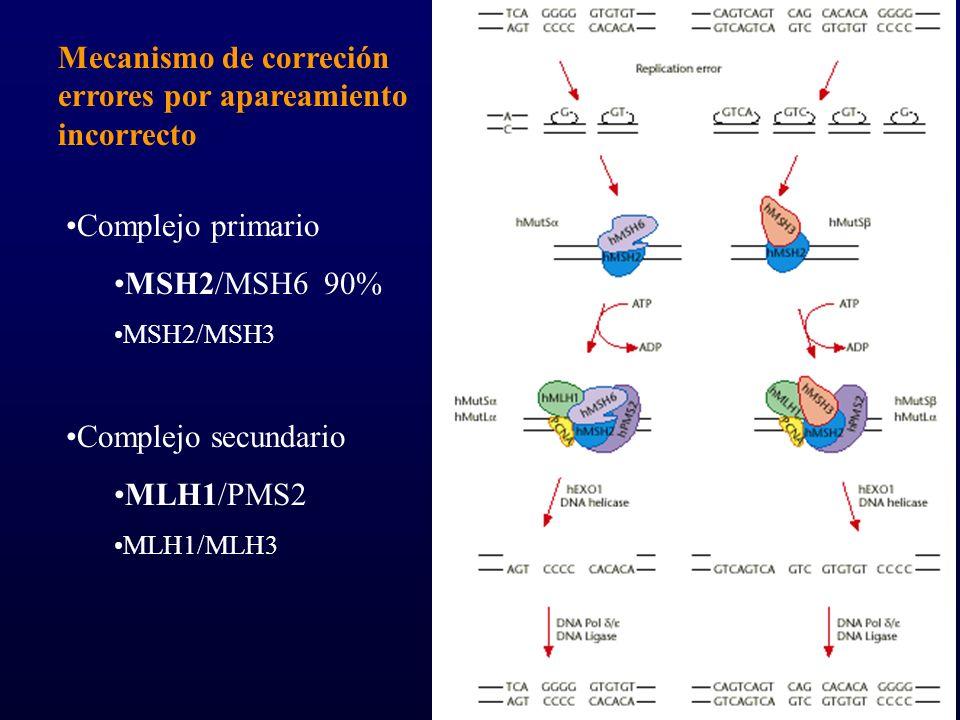 Mecanismo de correción errores por apareamiento incorrecto