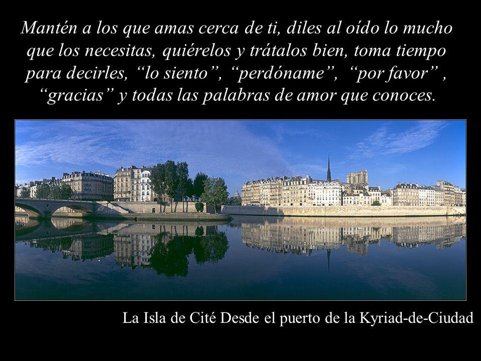La Isla de Cité Desde el puerto de la Kyriad-de-Ciudad