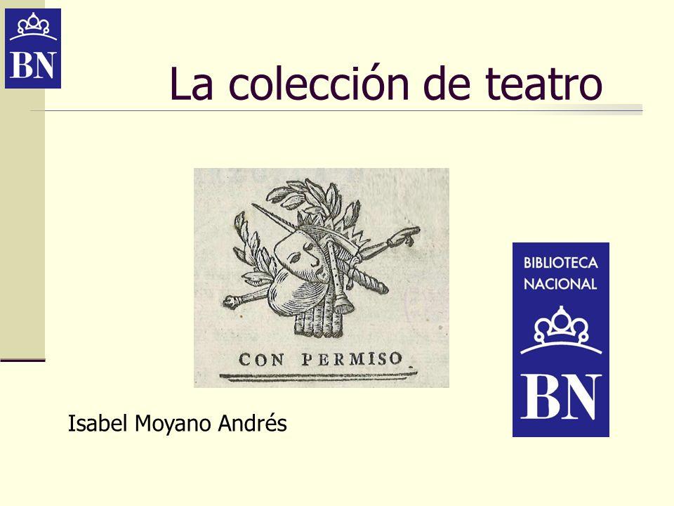 La colección de teatro Isabel Moyano Andrés
