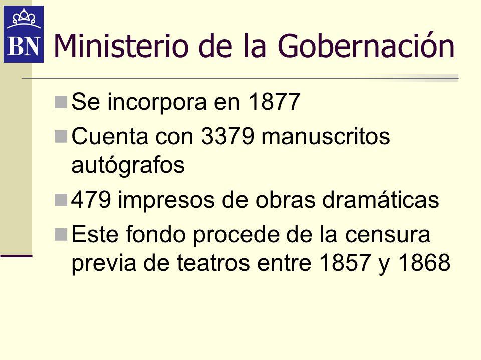 Ministerio de la Gobernación