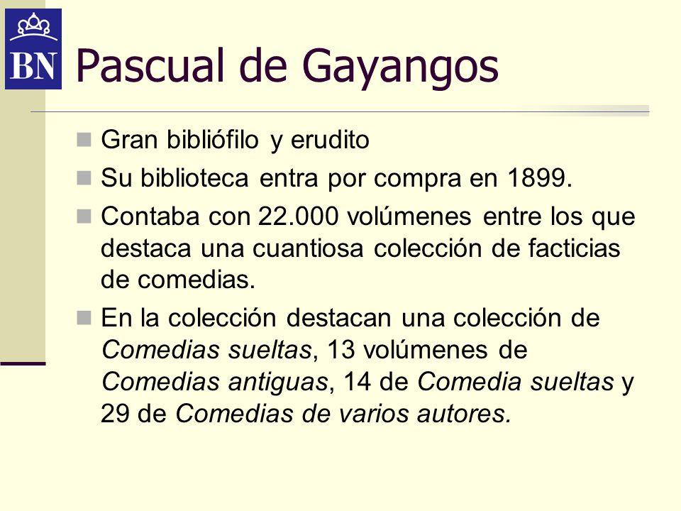 Pascual de Gayangos Gran bibliófilo y erudito