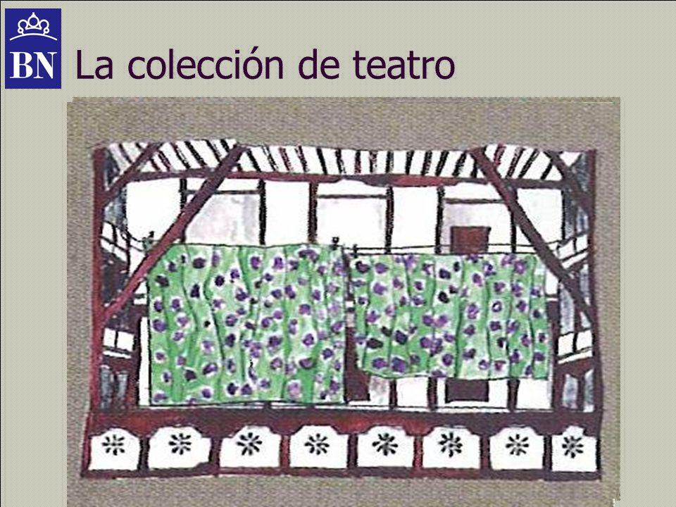 La colección de teatro