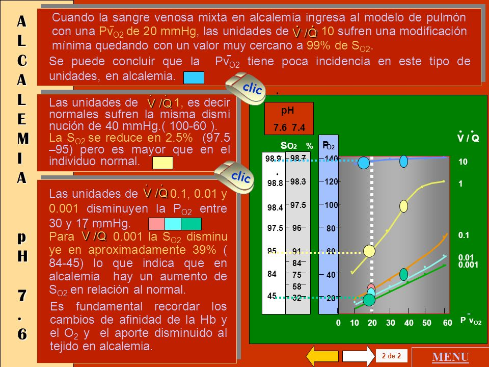 ALCALEMIA pH 7.6.