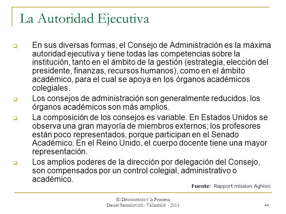 La Autoridad Ejecutiva