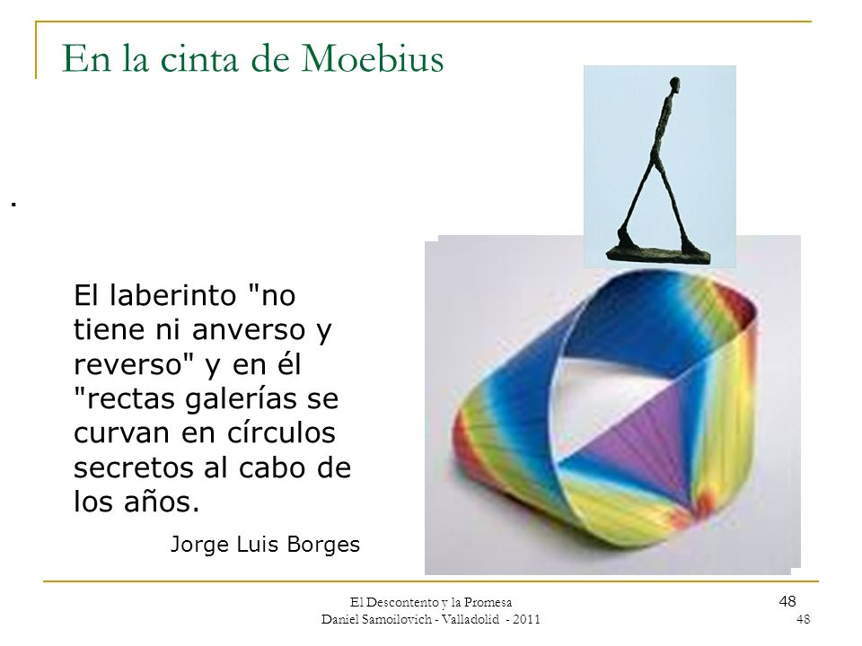 El Descontento y la Promesa Daniel Samoilovich - Valladolid - 2011