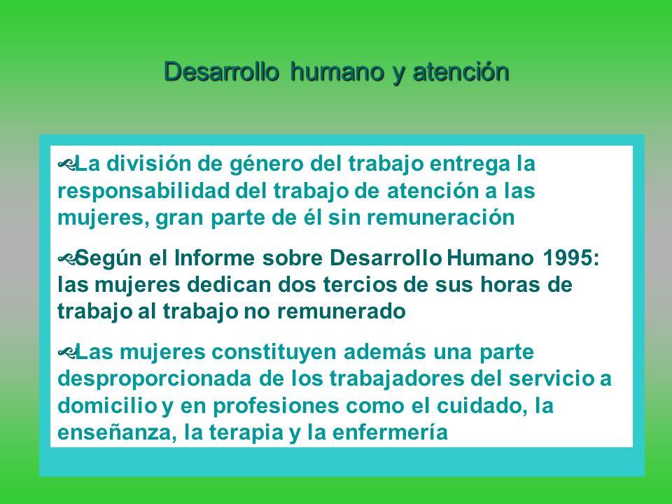 Desarrollo humano y atención