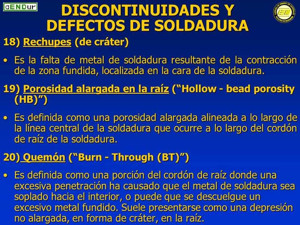Normas discontinuidades y defectos en soldaduras ppt for Que es soldadura