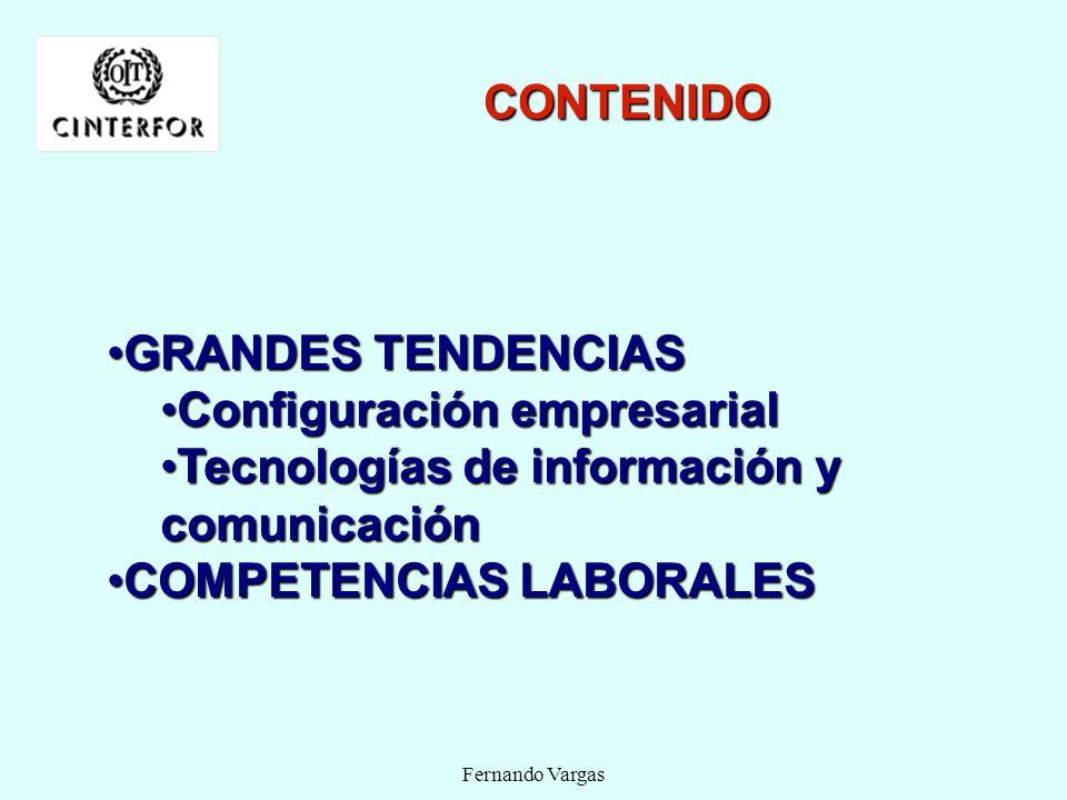 Configuración empresarial Tecnologías de información y comunicación