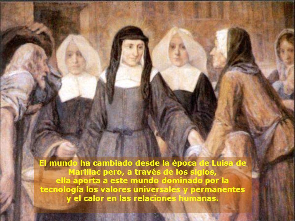 El mundo ha cambiado desde la época de Luisa de Marillac pero, a través de los siglos,