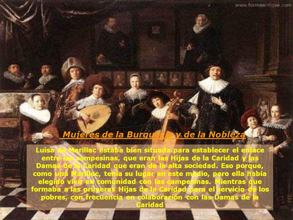 Mujeres de la Burguesía y de la Nobleza