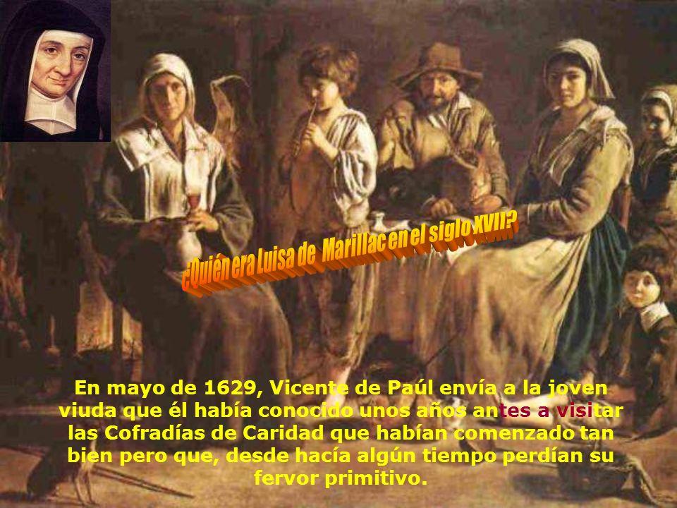 ¿Quién era Luisa de Marillac en el siglo XVII