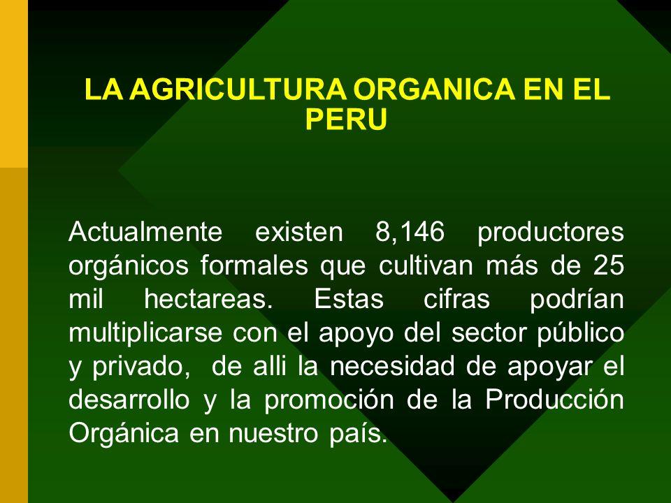 LA AGRICULTURA ORGANICA EN EL PERU