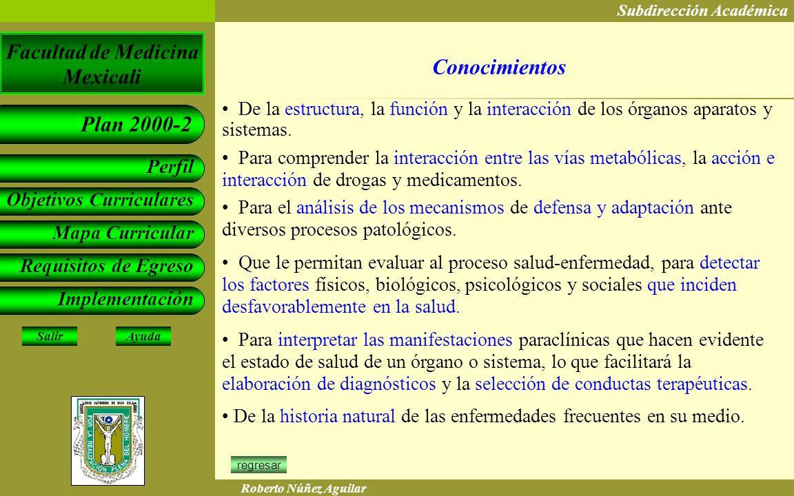 Conocimientos De la estructura, la función y la interacción de los órganos aparatos y sistemas.