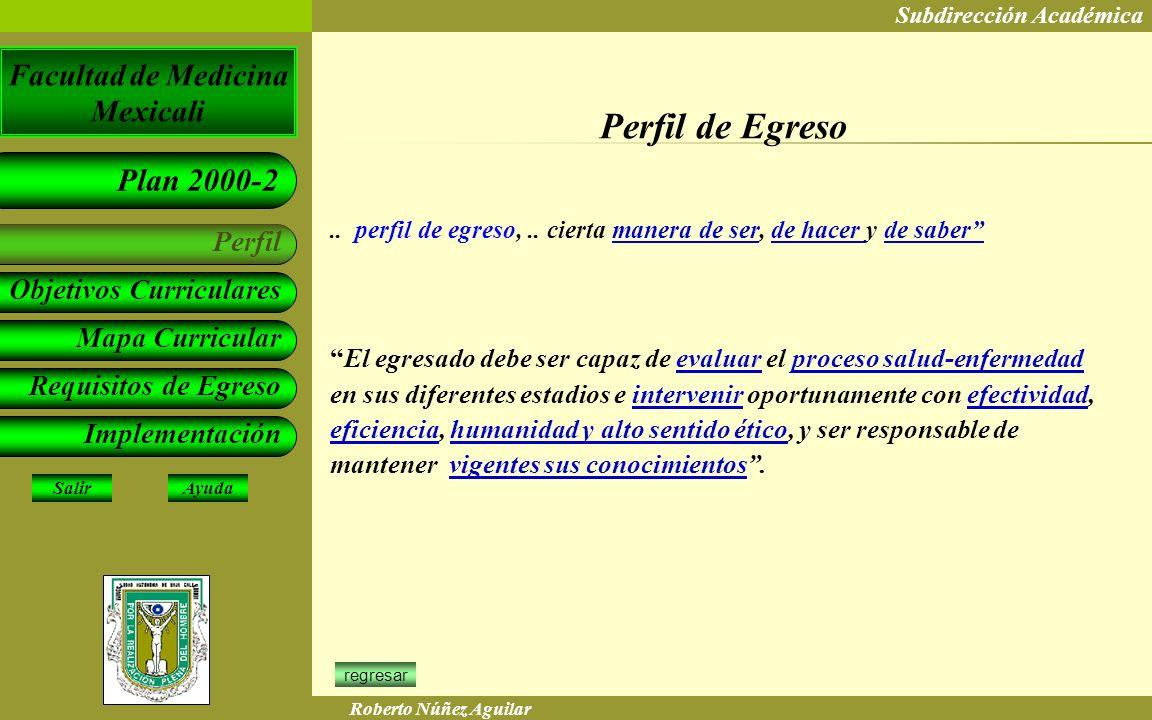 Perfil de Egreso .. perfil de egreso, .. cierta manera de ser, de hacer y de saber