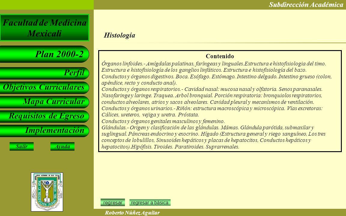 Histología Contenido.