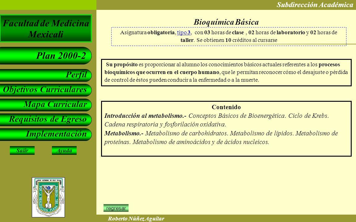 Bioquímica Básica Contenido