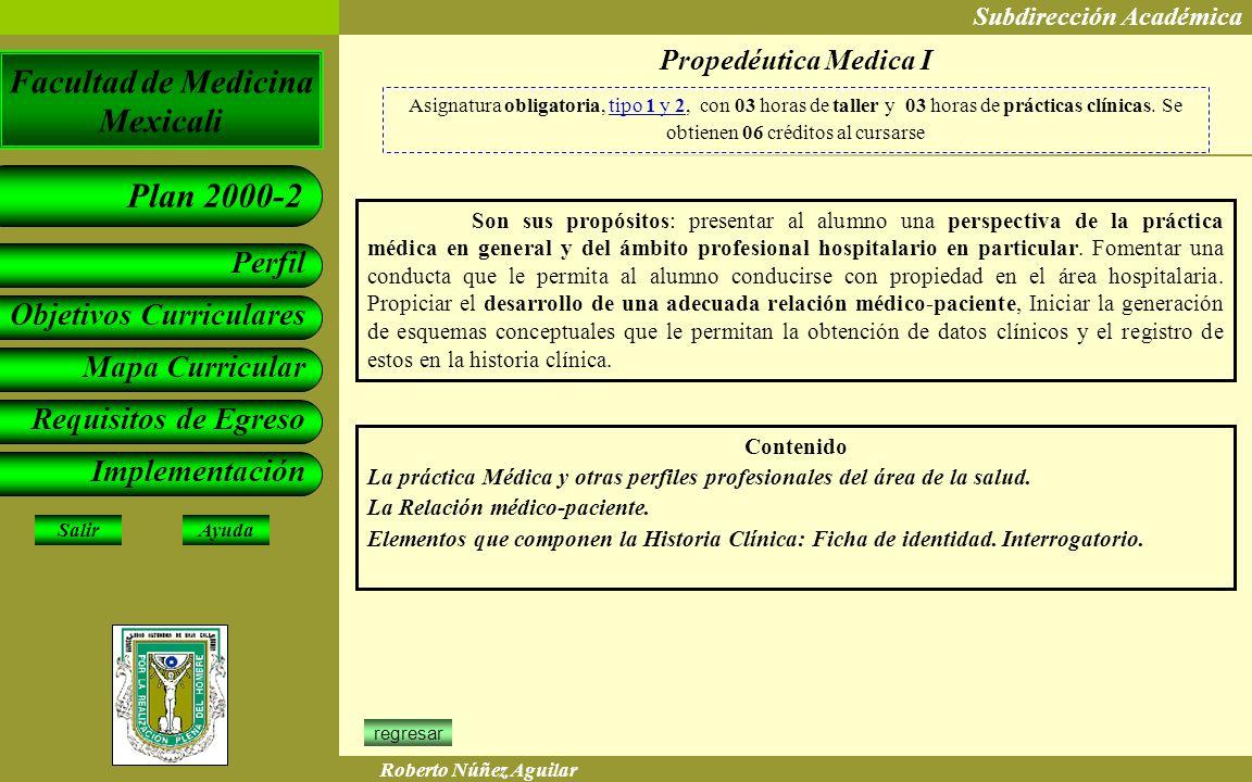 Propedéutica Medica I