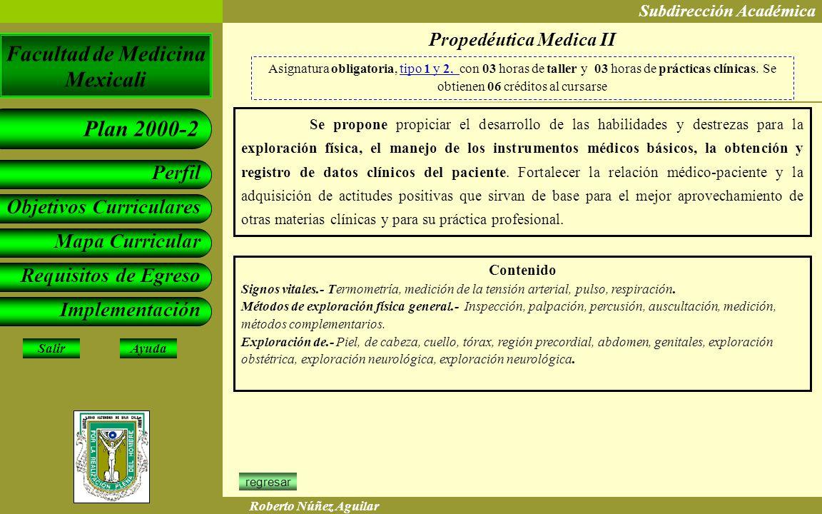 Propedéutica Medica II