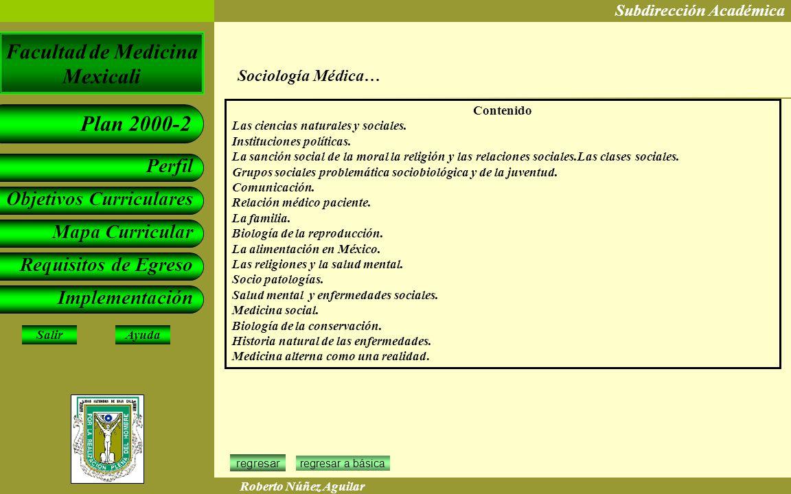 Sociología Médica… Contenido Las ciencias naturales y sociales.