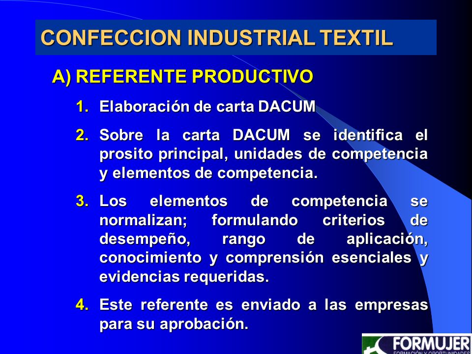CONFECCION INDUSTRIAL TEXTIL