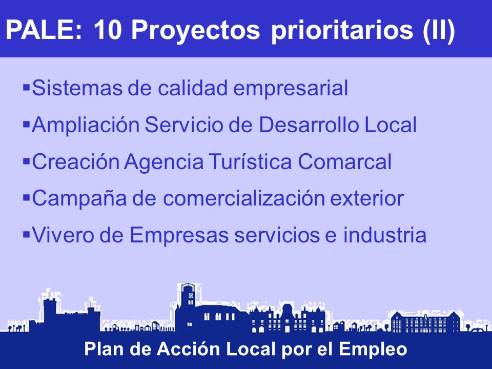 Plan de Acción Local por el Empleo