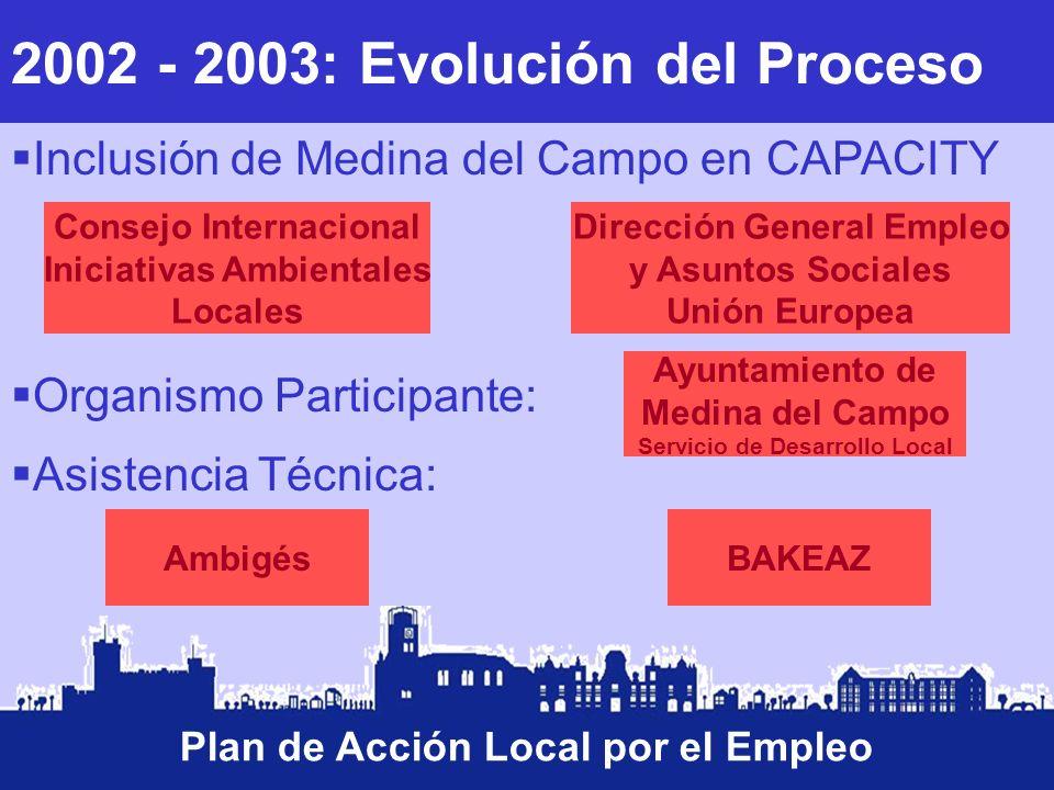 2002 - 2003: Evolución del Proceso