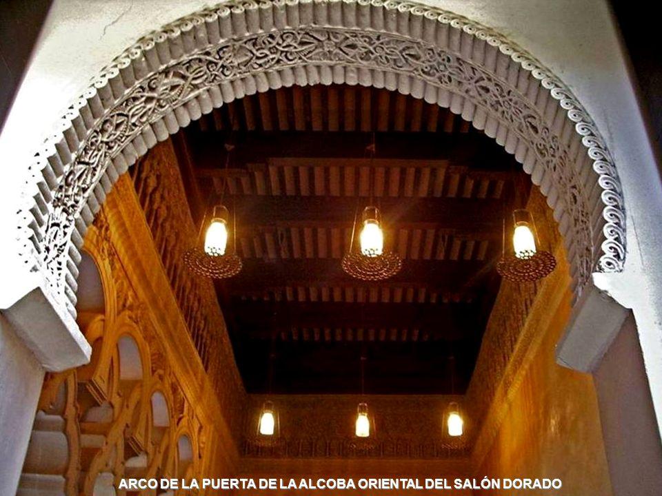 www.vitanoblepowerpoints.net ARCO DE LA PUERTA DE LA ALCOBA ORIENTAL DEL SALÓN DORADO