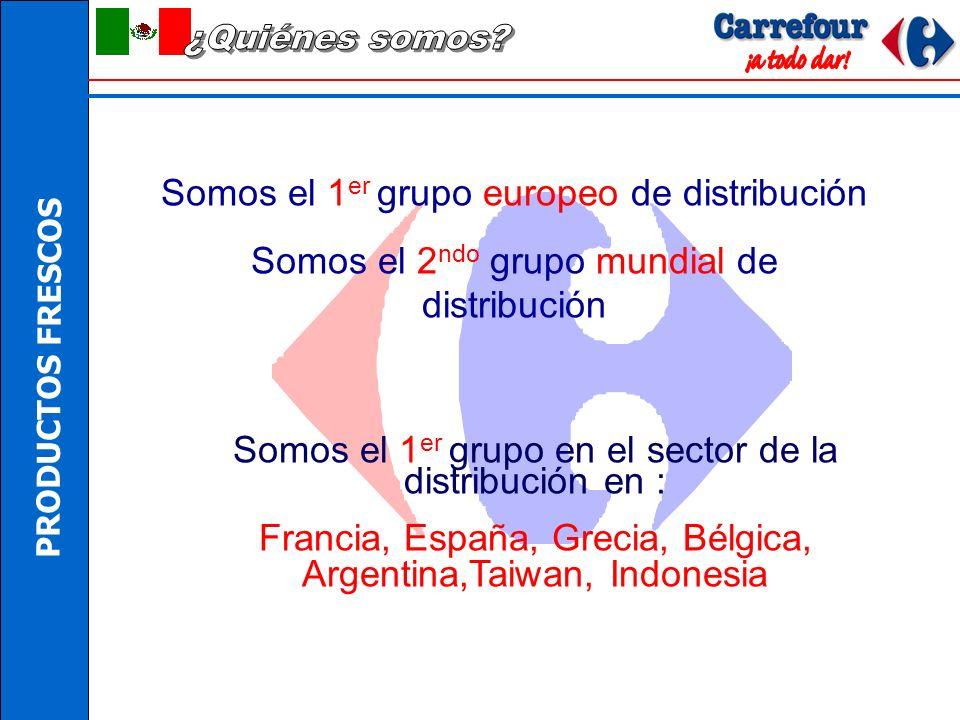 ¿Quiénes somos Somos el 1er grupo europeo de distribución