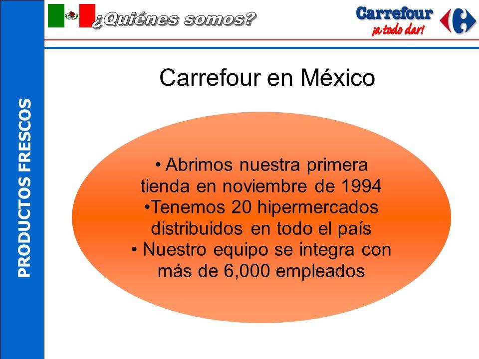 ¿Quiénes somos Carrefour en México