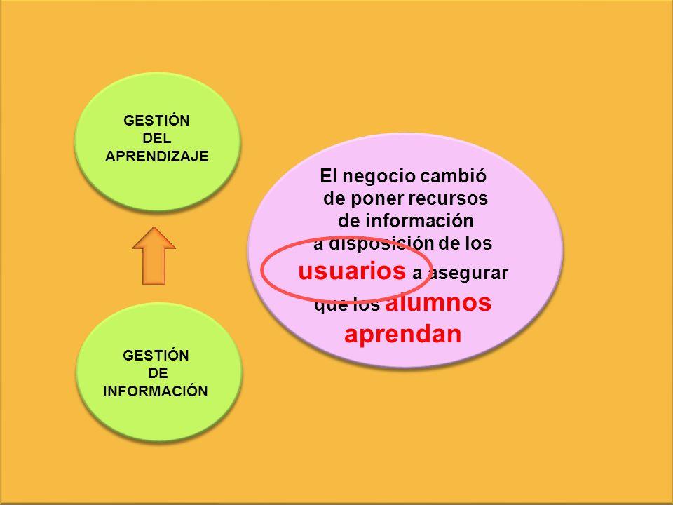 a disposición de los usuarios a asegurar que los alumnos aprendan