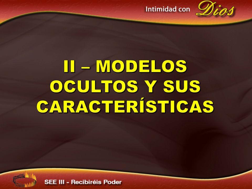 II – Modelos ocultos y sus características