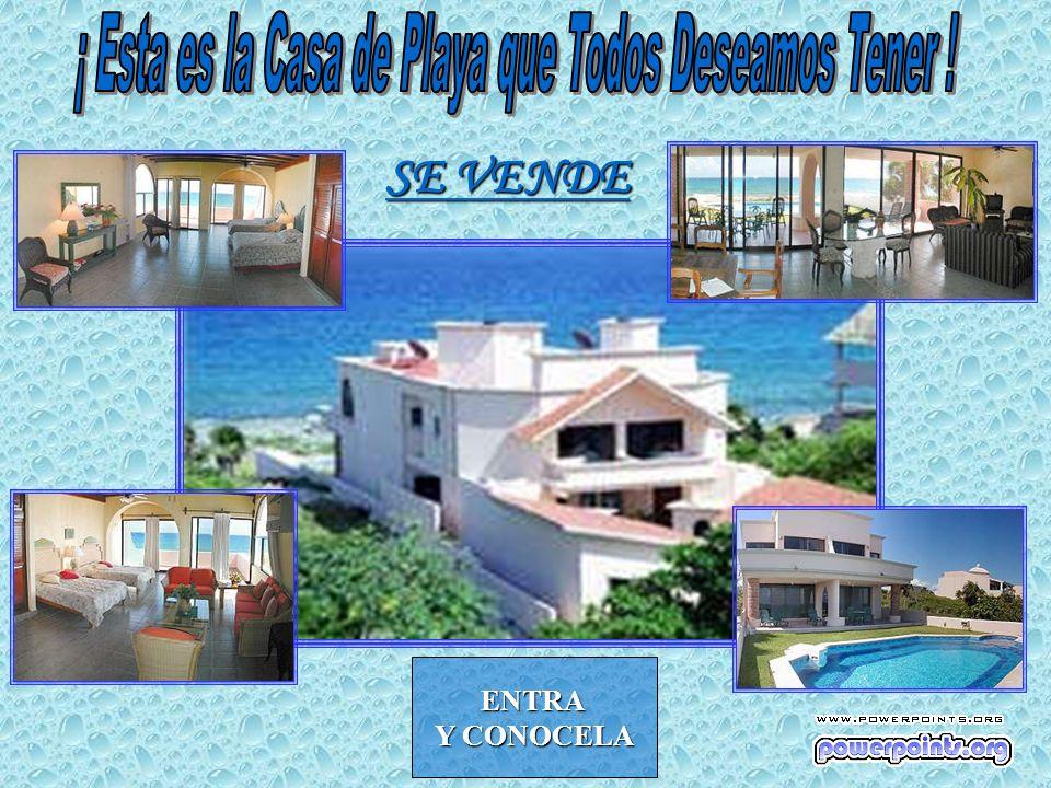 ¡ Esta es la Casa de Playa que Todos Deseamos Tener !