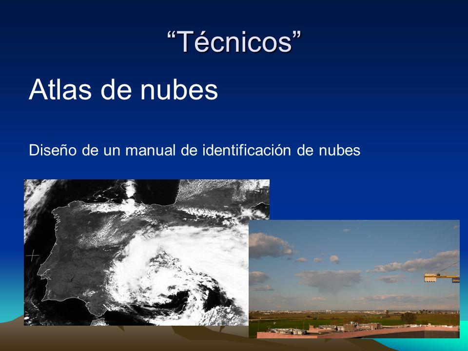 Técnicos Atlas de nubes