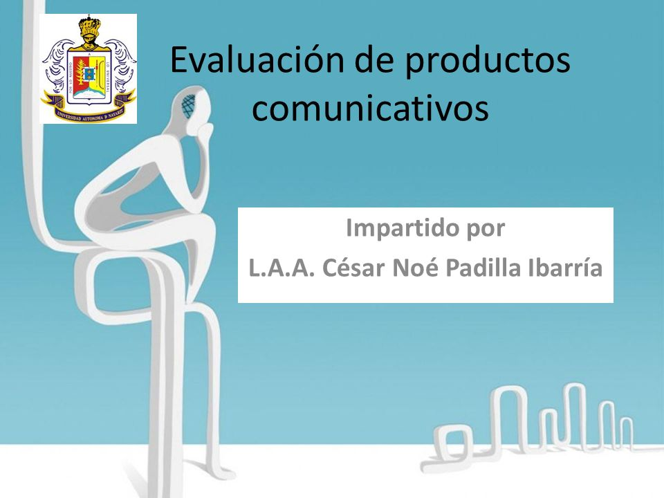 Evaluación de productos comunicativos