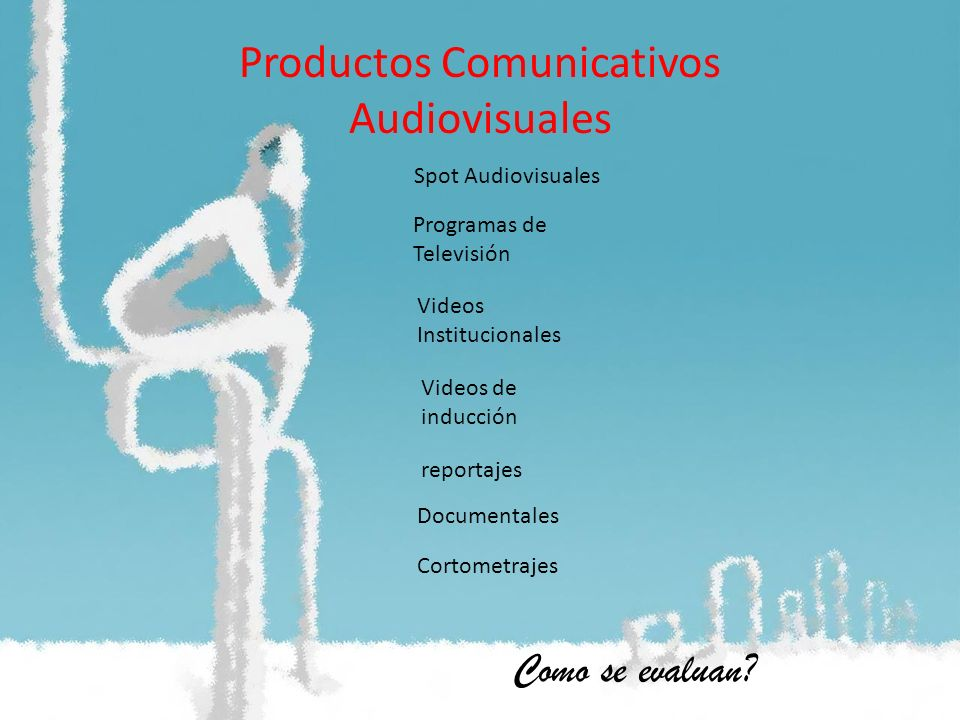 Productos Comunicativos Audiovisuales