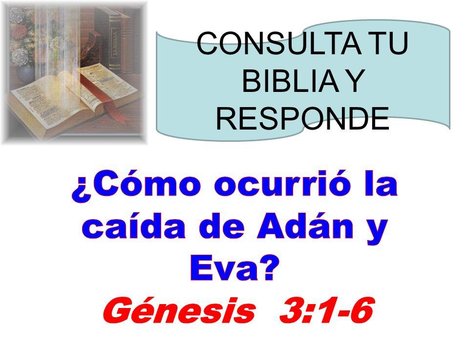 ¿Cómo ocurrió la caída de Adán y Eva
