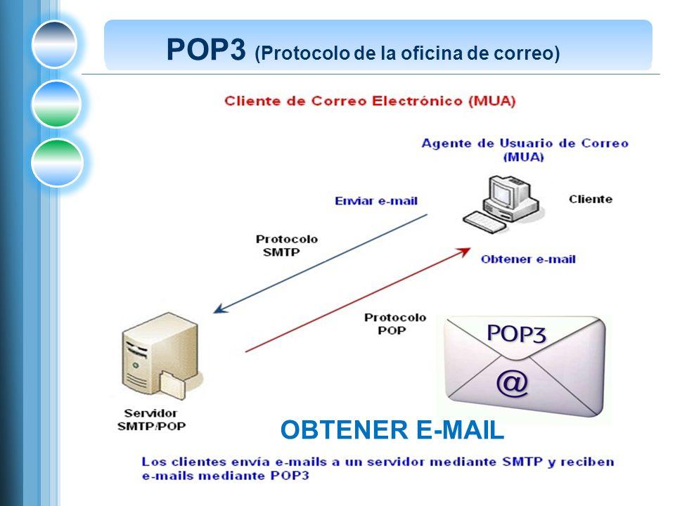 POP3 (Protocolo de la oficina de correo)