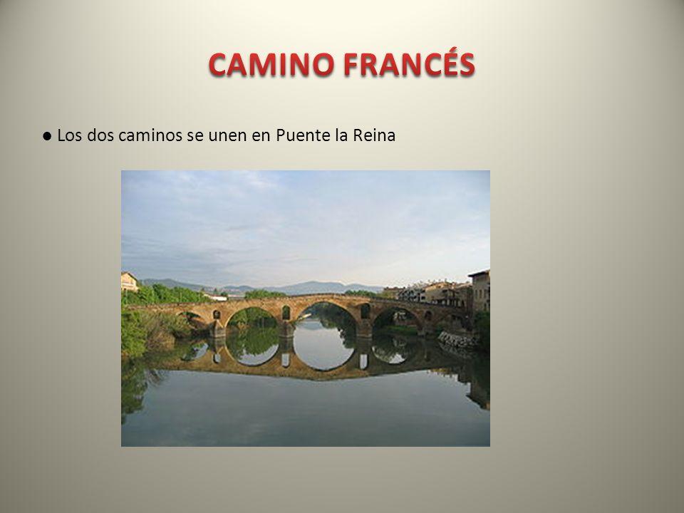 CAMINO FRANCÉS ● Los dos caminos se unen en Puente la Reina