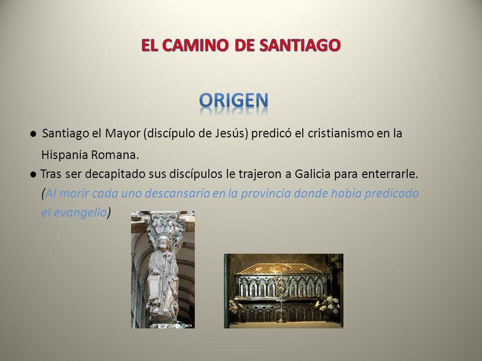 ORIGEN EL CAMINO DE SANTIAGO