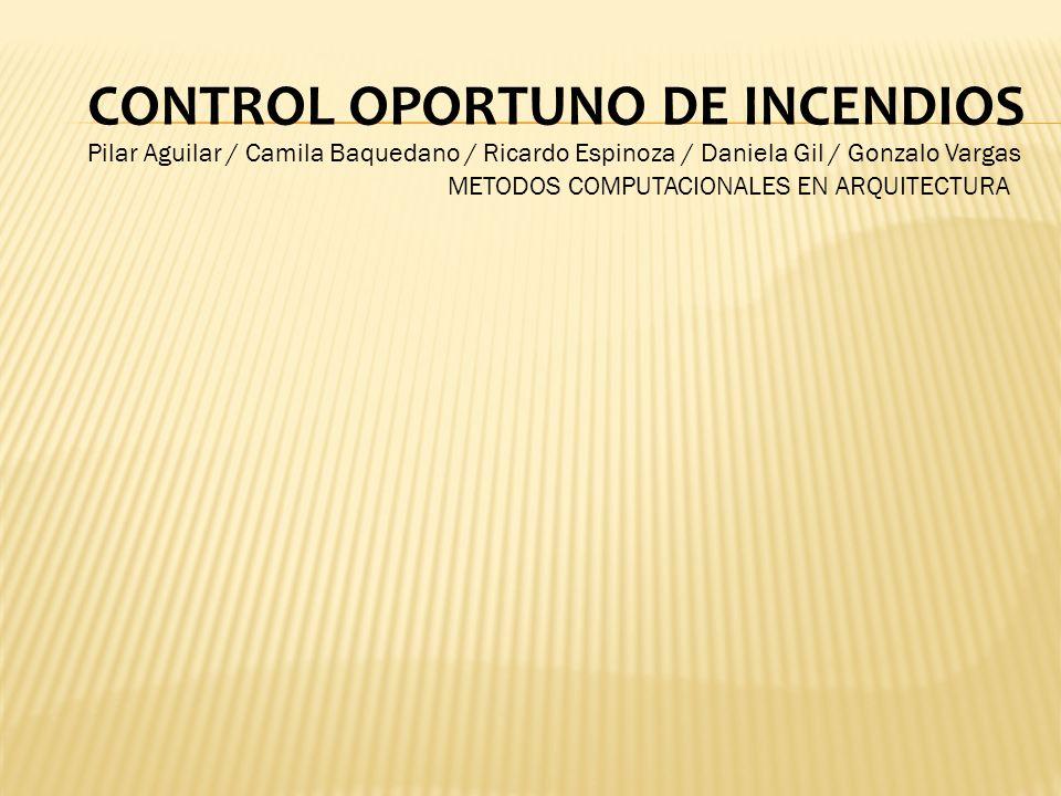 CONTROL OPORTUNO DE INCENDIOS